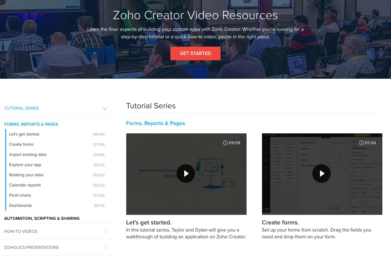 zoho-creator-video