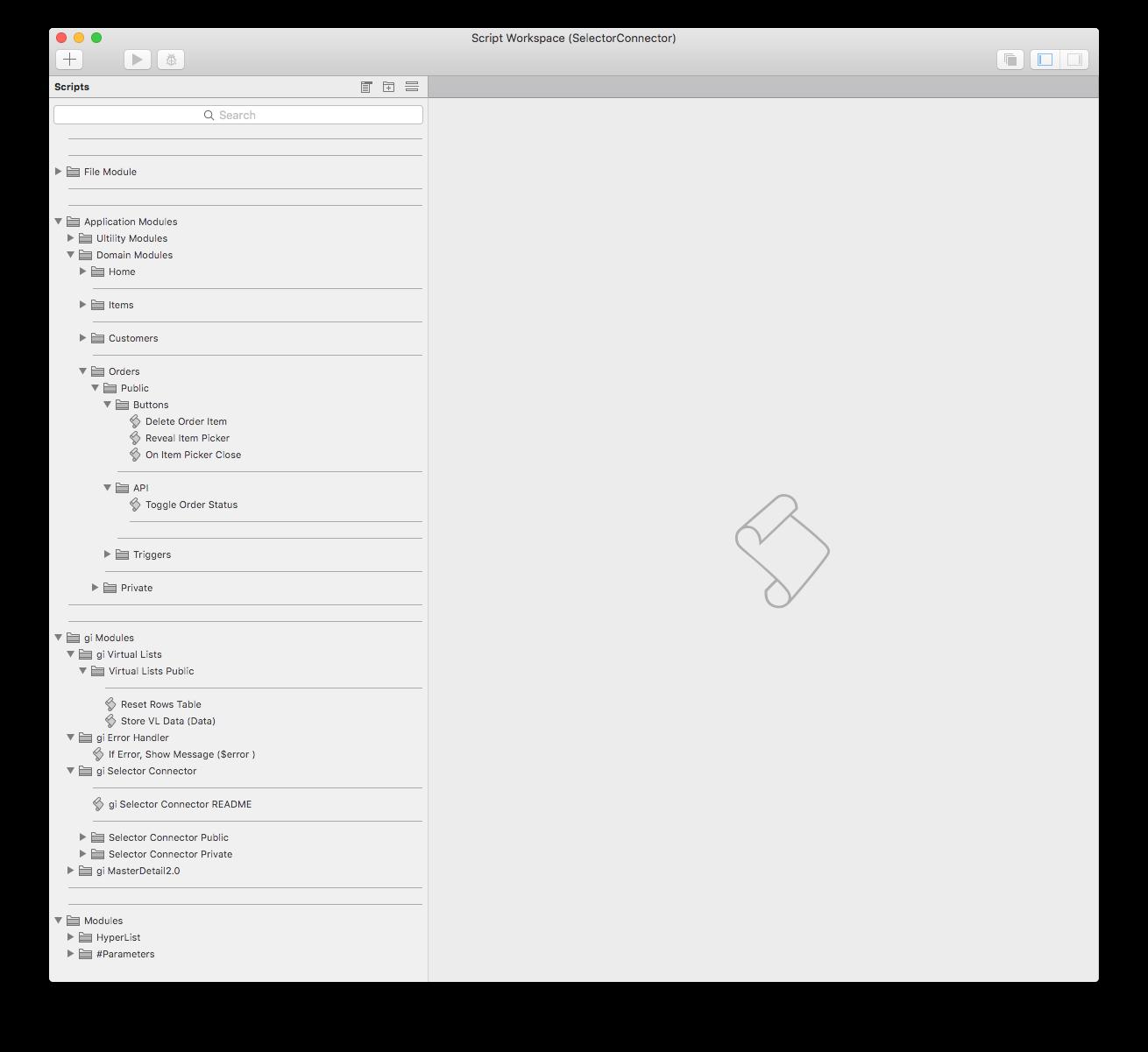 script-workspace-selectorconnector