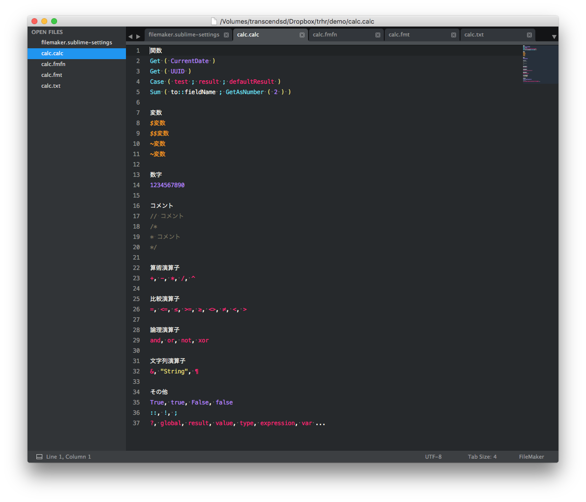 sublime-text-filemaker-syntax